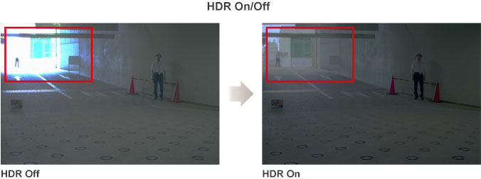 HDR On/Off